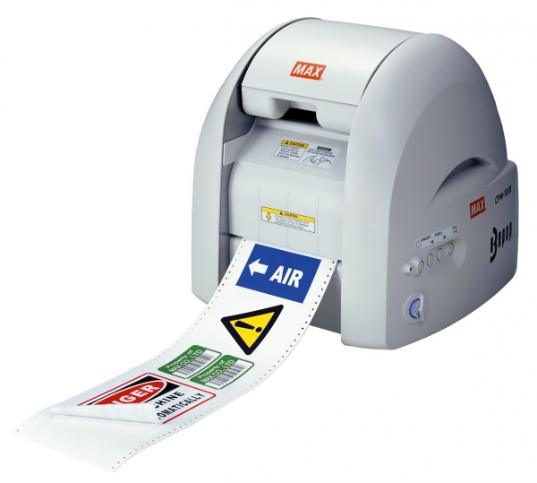 Cpm 100g3u Label Maker And Decal Printer